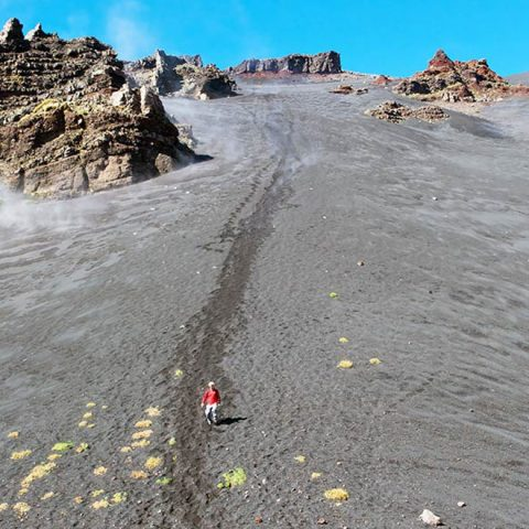 Trekking Etna grotta Serracozzo